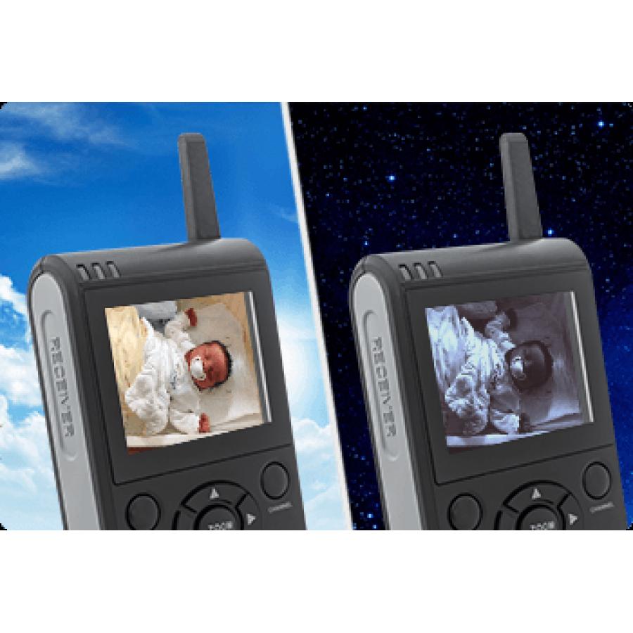 MT Vision BC-20 Babycam Set - Kamera steuerbar + Monitor 2,36 Zoll -