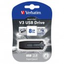 Verbatim 8 GB USB Stick 3.0 V3 Store´n Go - Super Speed -...