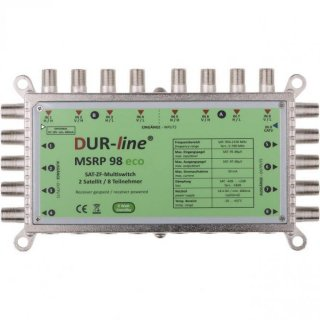 DUR-line MSRP 98 eco Multischalter stromloser 9/8 Multischalter