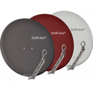 DUR-line 75 Select Alu Sat-Spiegel / Antenne + Single LNB