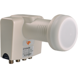 GT-SAT Unicable LNB SCR bis zu 7 Teilnehmer - 4x Unicable Receiver + 3x Legacy